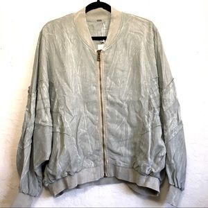 YF&B Tie Dyed Marbled Jacket Size Small